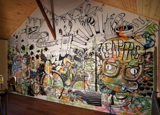 Leapfrogs: Wall Mural