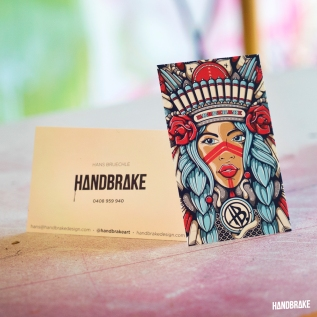 Handbrake Business Cards2018